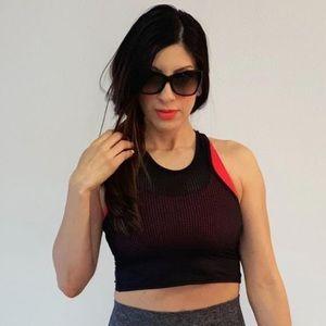 Bombshell Sportswear Mesh Styled Workout Tank